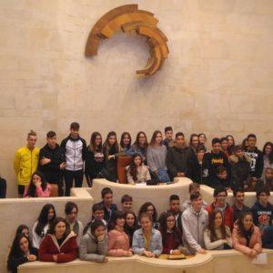 Visita el Parlamento de Cantabria