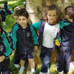 Educación Infantil visita el Parque de Morales