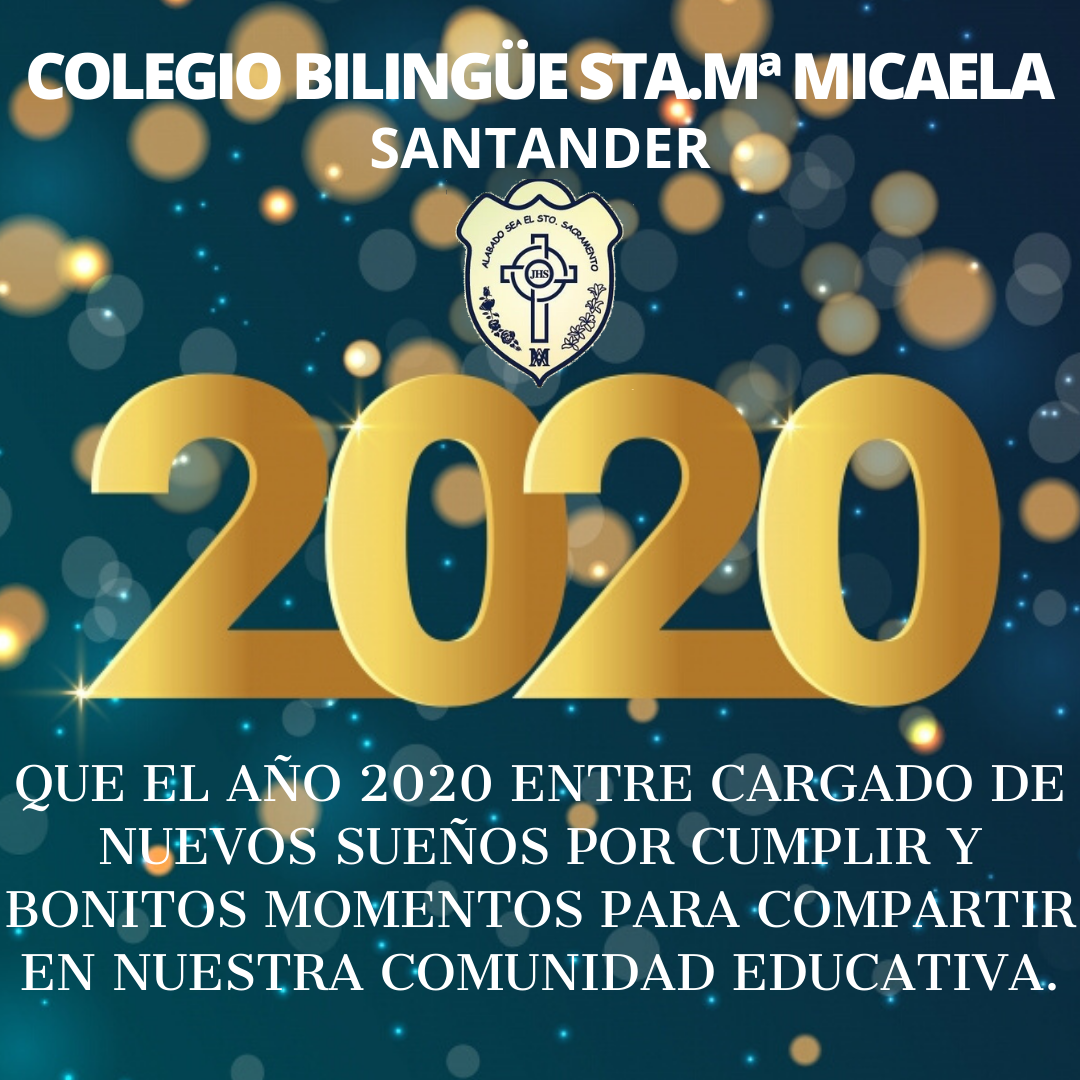 FELIZ 2020/HAPPY NEW YEAR!